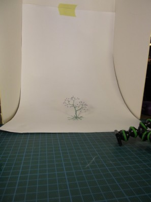 Polina's wire tree