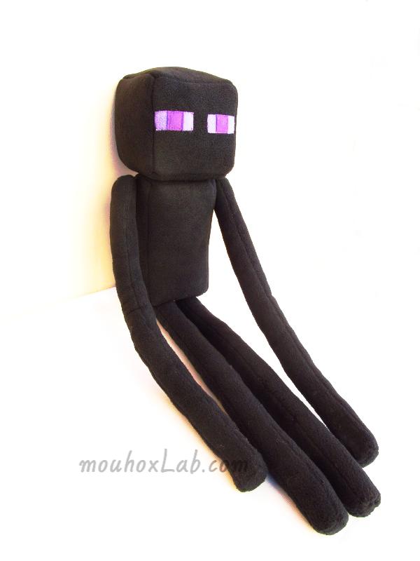 Enderman plushie - mouhoxLab 5