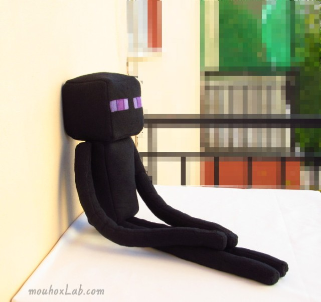 Enderman plushie