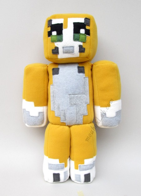 Front side - Stampy cat