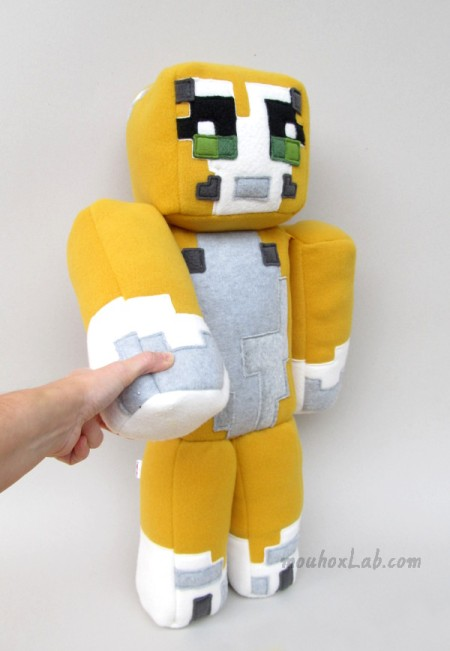 Stampy cat softie